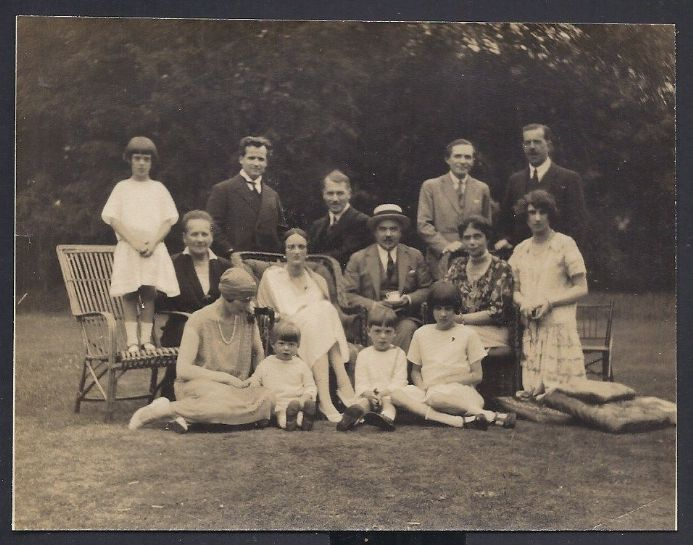 Grand Duchess Xenia Romanov Imperial Russia & Family Frogmore Cottage 1920s